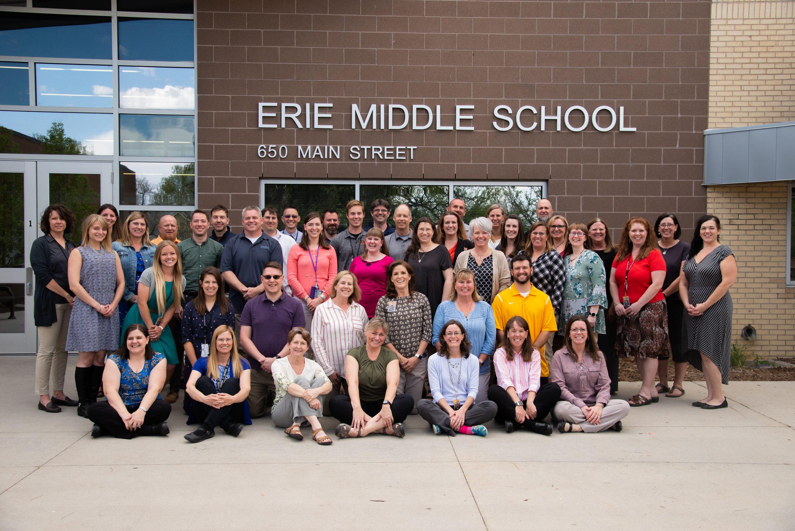 Erie Middle School Staff